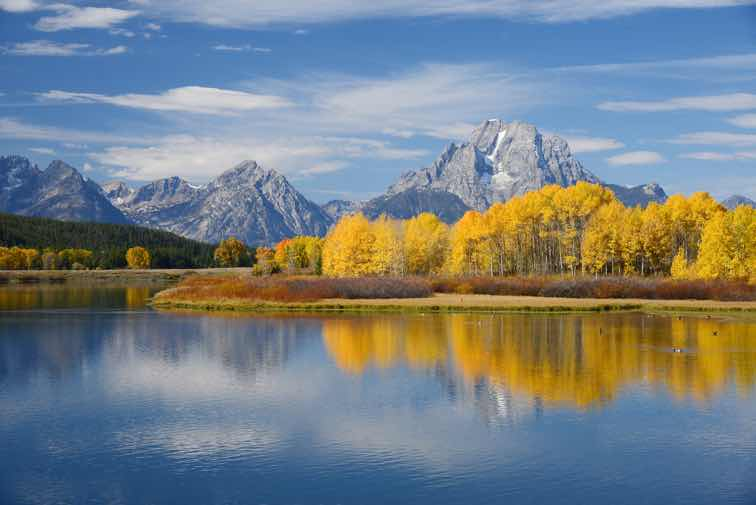 Snake River in Grand Tetons